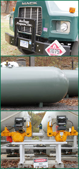 Hertage Fuel and Heritage Propane faq's